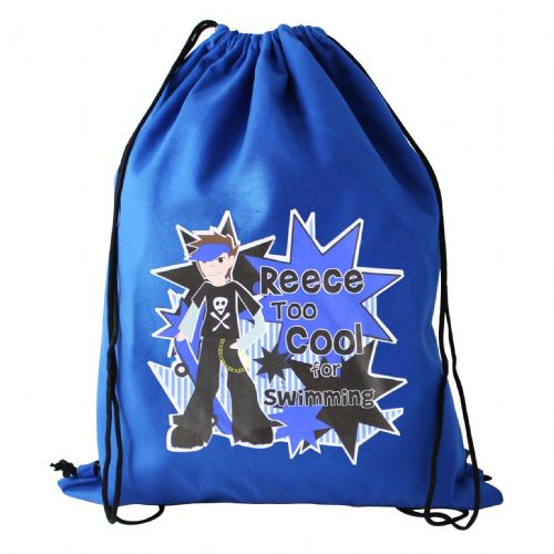 Personalised Boys Too Cool Swim Bag